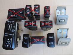 Кнопка. Toyota Land Cruiser, FZJ105, HDJ100, UZJ100, HZJ105, FZJ100 Lexus LX470, UZJ100 Двигатели: 1FZFE, 1HDT, 1HDFTE, 2UZFE, 1HZ