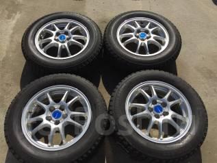 195/65 R15 Bridgestone литые диски 5х100 (L7-11). 6.0x15 5x100.00 ET45