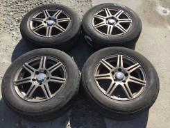 205/65 R15 Bridgestone Playz литые диски 5х100 (L7-13)