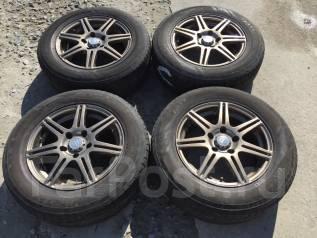 205/65 R15 Bridgestone Playz литые диски 5х100 (L7-13). 6.5x15 5x100.00 ET49