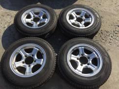 175/80 R15 Dunlop SJ7 литые диски 5х139.7 (L7-14). 6.0x15 5x139.00 ET22
