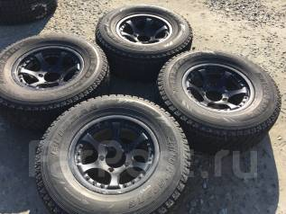 265/70 R16 Bridgestone DM-Z3 литые диски 5х139.7 (L7-17). 7.0x16 5x139.70 ET0