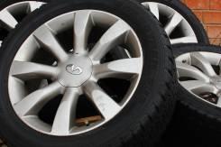 Отличный комплект колес Infinity R20 с шинами Dunlop 265.50.20. 8.0x20 5x114.30 ET50 ЦО 66,1мм.