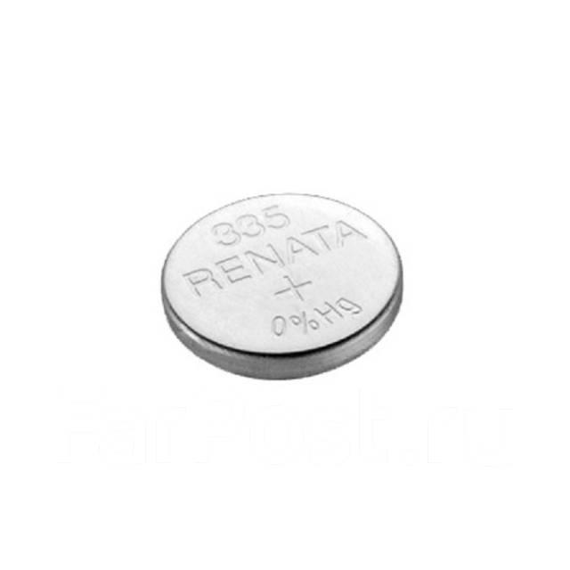 Батарейка Renata 335 / SR512SW для наручных часов и др