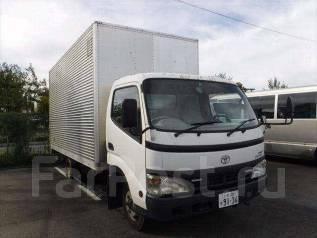 Toyota Dyna. будка под птс. 4вд! Широкая кабина, аппарель, 4 000 куб. см., 3 000 кг. Под заказ