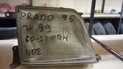 Фара передняя правая Prado 90-95 оригинал