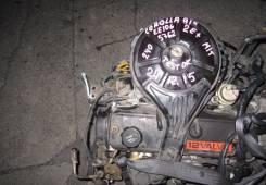 Двигатель в сборе. Toyota Corolla, EE106V, EE106 Двигатель 2E