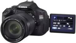 Canon EOS 600D. зум: 14х и более