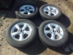 Комплект колес R16 + резина лето жир. 6.5x16 5x114.30 ET50