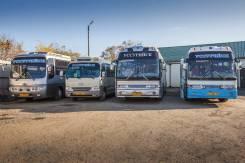 Аренда автобусов на заказ вместимостью от 18 до 45 посадочных мест. С водителем