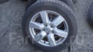 Зимняя резина Dunlop 215/60R17 на литье Nissan. 6.5x17 5x114.30 ET45