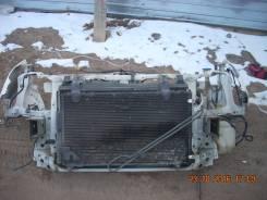 Радиатор охлаждения двигателя. Honda Stream, RN1 Двигатель D17A