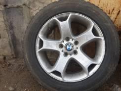 Продам Диски BMW с зимней резиной на докатку 255/55 R18. 8.5x18 5x120.00