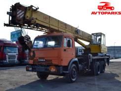 Камаз. Автокран КС45717-К 2003 года, 10 850 куб. см., 1 000 кг., 25 м.