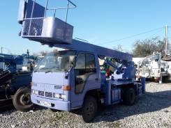 Isuzu Elf. Автовышка на шасси Исудзу Эльф, 3 660 куб. см., 16 м.