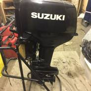 Suzuki. 30,00л.с., 2х тактный, бензин, нога S (381 мм), Год: 2011 год