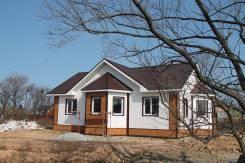 Готовый дом (новый проект) Хорошо Уступим. Жамского 19, р-н Молодежка, площадь дома 105 кв.м., скважина, электричество 15 кВт, от агентства недвижимо...