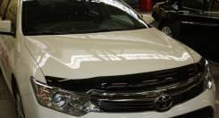 Дефлектор капота. Toyota Camry, AVV50, ASV50, ASV51, GSV50 Двигатели: 6ARFSE, 2ARFXE, 2ARFE, 2GRFE