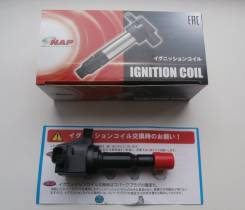 Катушка зажигания. Honda: Jazz, Fit Aria, Mobilio Spike, Mobilio, Airwave, Fit, City, City ZX Двигатели: L15A1, L15A, REFD15, REFD04, REFD05, REFD57...