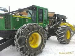 John Deere. Трелевочный трактор (Скиддер) 648H, 16 329,00кг.