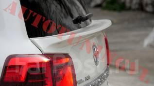 Спойлер на заднее стекло. Toyota Land Cruiser, J200, URJ202, URJ202W, VDJ200 Двигатели: 1URFE, 1VDFTV, 3URFE