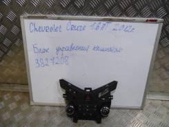 Блок управления климат-контролем. Chevrolet Cruze