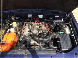 Двигатель. Isuzu Bighorn, UBS25GW Двигатель 6VD1