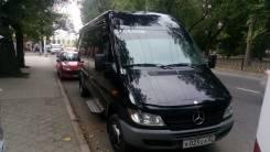 Mercedes-Benz Sprinter 411 CDI. Продам микроавтобус Mercedes Sprinter Classic ! Черного Цвета!, 2 200 куб. см., 19 мест