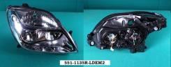 Фара. Renault Megane Renault Scenic, JA Двигатели: F4P, F4R, F8Q, F9Q, K4J, K4M