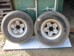 Dunlop Grandtrek SJ4. Зимние, без шипов, износ: 30%, 2 шт