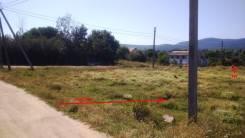 Байдарская долина, с. Орлиное. Ровный участок 10 соток. Собственник. 1 000 кв.м., собственность, электричество, вода, от частного лица (собственник)