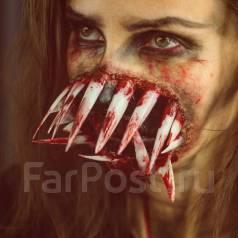 Грим от проф. гримера. Настоящие Зомби! Аквагрим . Хеллоуин