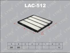 Фильтр салонный LYNXauto LAC512