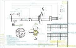 Стойка задняя TOYOTA CAMRY GRACIA/MARK II/CAMRY/VISTA 4WD 90-01 LH