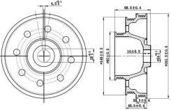 Шкив коленвала HONDA CIVIC/DOMANI/INTEGRA D13/D14/D15/ZC 91- SAT ST13811P2A000
