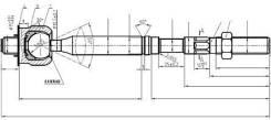 Тяга рулевая TOYOTA RAV4 05- ST-45503-0R030