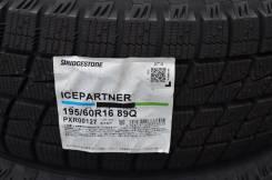 Bridgestone Ice Partner. Зимние, без шипов, 2014 год, без износа, 4 шт