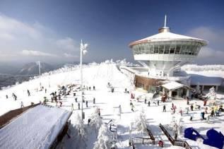 Южная Корея. Енг Пьенг. Горнолыжный тур. Снег и Лыжи в Корее. Специальная акция! Зима 2016-2017 + Новый год