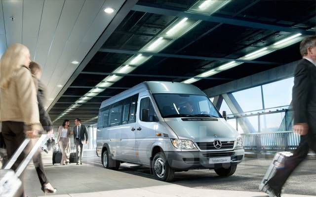 Mercedes-Benz Sprinter. Турист 19+1, Мерседес-Бенц Спринтер 411, 2 200 куб. см., 19 мест. Под заказ
