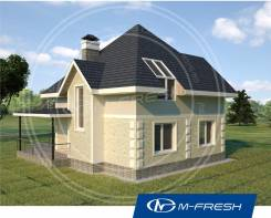 M-fresh Simple (Вы хотите жить на природе в своём доме? ). 100-200 кв. м., 1 этаж, 4 комнаты, комбинированный