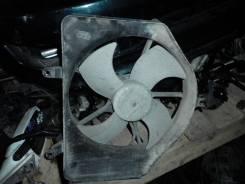Мотор вентилятора охлаждения. Honda Fit, GD1 Двигатель L13A