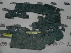 Шумоизоляция центрального тонеля Mitsubishi ASX GA3W 4B10