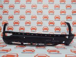 Юбка заднего бампера Hyundai Santa Fe 2012-2015