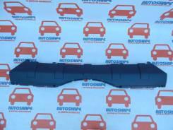 Накладка на бампер. Mitsubishi Pajero