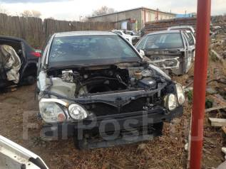 Кронштейн козырька солнцезащитного. Toyota Aristo, JZS161