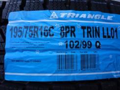 Triangle Group LL01. Зимние, без шипов, 2017 год, без износа, 4 шт