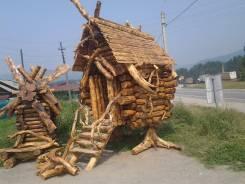 Продам декоративную мебель и изделия из коряг и бревна