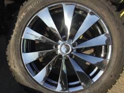 Комплект колес на Ваш Lexus harrier Escudo авто 235/55R19 Yoko 95% + от Rays японский хром. 8.0x19 5x114.30 ET45 ЦО 73,0мм.