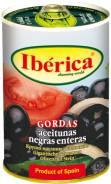 Маслины Иберика крупные 420 гр с/к