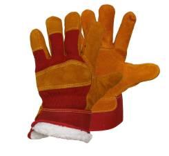 Перчатки спилковые.